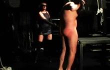 Hard BDSM scene