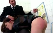 Hard anal spanking and fucking