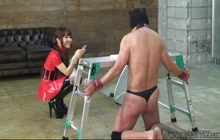 Fierce punishment by Japanese mistress