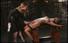 Kina Kai in hard lesbian BDSM