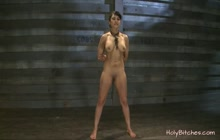 Playing With Tits in Bdsm Fetish Video