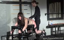 Bound woman gets extreme punishment