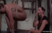 Lesbian BDSM sessions