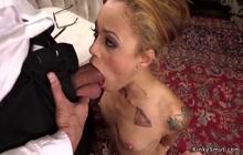 Petite ebony sub anal fucked bdsm