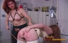 Lesbian BDSM and enema