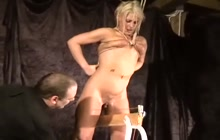 Bizarre BDSM with hot girl
