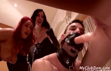 Passionate Mistresses Fooling Around With Their Slave