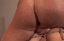 Bound hoe ass fucked